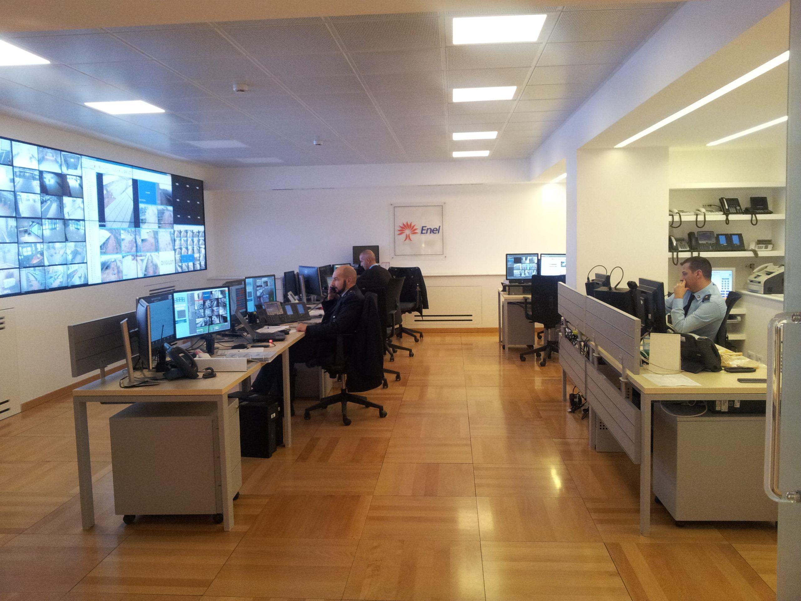 Security Piattaforma di Supervisione per Enel